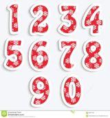 Imprimer le dessin en couleurs : Tous les chiffres, numéro d693e3cc