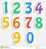 Imprimer le dessin en couleurs : Tous les chiffres, numéro da3db7cc