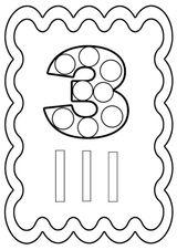 Imprimer le coloriage : Chiffres et formes, numéro a150d347