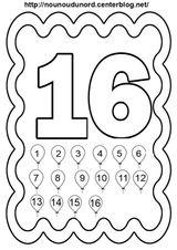 Imprimer le coloriage : Chiffres et formes, numéro b31ea285