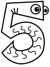 Imprimer le coloriage : Chiffres et formes, numéro c0ead27c