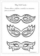 Imprimer le coloriage : Carnaval, numéro 167350