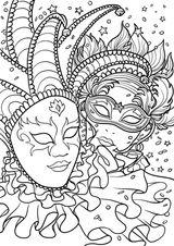 Imprimer le coloriage : Carnaval, numéro 1c04a4ca