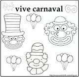 Imprimer le coloriage : Carnaval, numéro 1f01835a