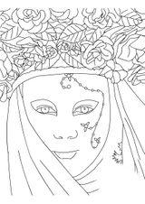Imprimer le coloriage : Carnaval, numéro 3766