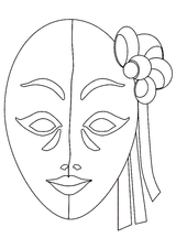 Imprimer le coloriage : Carnaval, numéro 3781