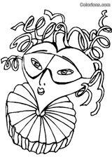 Imprimer le coloriage : Carnaval, numéro 759838