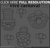 Imprimer le coloriage : Carnaval, numéro 79ad08a2