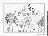 Imprimer le coloriage : Carnaval, numéro fca97780