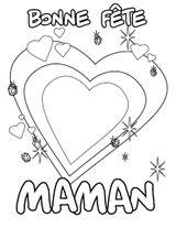 Imprimer le coloriage : Fête des mères, numéro 21845dbc
