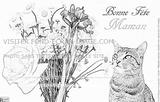 Imprimer le coloriage : Fête des mères numéro 268401