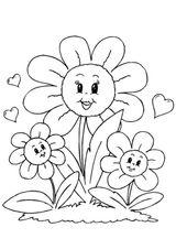 Imprimer le coloriage : Fête des mères, numéro 297159