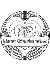Imprimer le coloriage : Fête des mères, numéro 2e14bf07