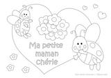Imprimer le coloriage : Fête des mères, numéro 307806