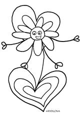 Imprimer le coloriage : Fête des mères, numéro 3138