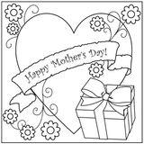 Imprimer le coloriage : Fête des mères, numéro 350468