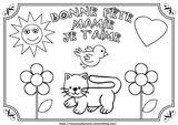 Imprimer le coloriage : Fête des mères, numéro 3c55fdb6