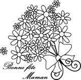 Imprimer le coloriage : Fête des mères, numéro 41f60a64