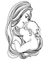 Imprimer le coloriage : Fête des mères, numéro 44733