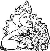 Imprimer le coloriage : Fête des mères, numéro 44737