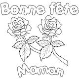 Imprimer le coloriage : Fête des mères, numéro 44746