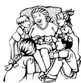 Imprimer le coloriage : Fête des mères, numéro 45930