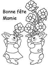 Imprimer le coloriage : Fête des mères, numéro 4b2eb03f