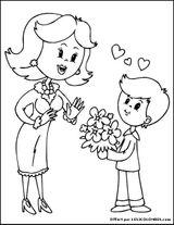 Imprimer le coloriage : Fête des mères, numéro 66464