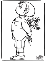 Imprimer le dessin en couleurs : Fête des mères, numéro 76307