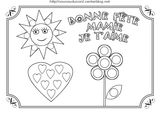 Imprimer le coloriage : Fête des mères, numéro 8187b405