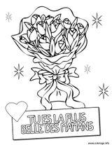 Imprimer le coloriage : Fête des mères, numéro 9f5b9285