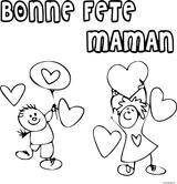 Imprimer le coloriage : Fête des mères, numéro cbccf8bf