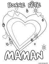 Imprimer le coloriage : Fête des mères, numéro dcd6e7ac