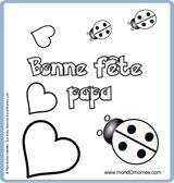 Imprimer le dessin en couleurs : Fête des pères, numéro 137700