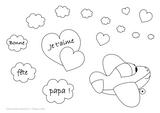Imprimer le coloriage : Fête des pères, numéro 240769