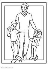 Imprimer le coloriage : Fête des pères, numéro 246158