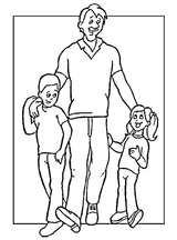Imprimer le coloriage : Fête des pères, numéro 44715