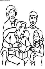Imprimer le coloriage : Fête des pères, numéro 44729