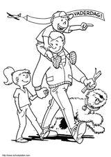 Imprimer le coloriage : Fête des pères, numéro 45921