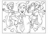 Imprimer le coloriage : Fête des pères, numéro 57111
