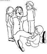 Imprimer le coloriage : Fête des pères, numéro 58300