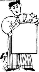 Imprimer le coloriage : Fête des pères, numéro 58301