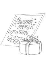 Imprimer le coloriage : Fête des pères, numéro 600573