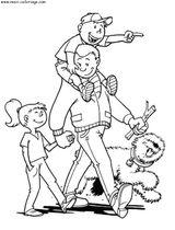 Imprimer le coloriage : Fête des pères, numéro 66437
