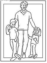 Imprimer le coloriage : Fête des pères, numéro 66442