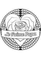Imprimer le coloriage : Fête des pères, numéro cdb8f564