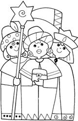 Imprimer le coloriage : Galette des Rois, numéro 16752