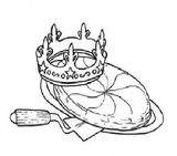 Imprimer le coloriage : Galette des Rois, numéro 262409