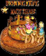 Imprimer le dessin en couleurs : Galette des Rois, numéro 300606