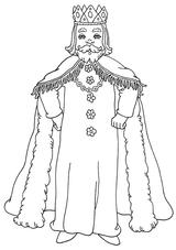 Imprimer le coloriage : Galette des Rois, numéro 368
